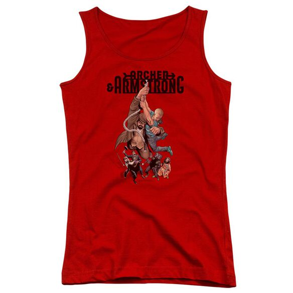 Archer & Armstrong Hang In There Juniors Tank Top