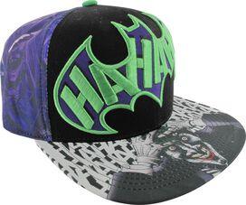 Joker Ha Ha Ha Logo Sublimated Hat