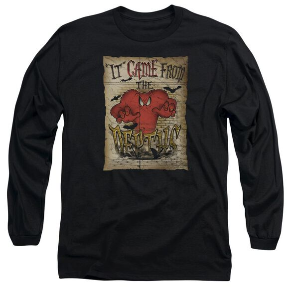 Looney Tunes The Depths Long Sleeve Adult T-Shirt