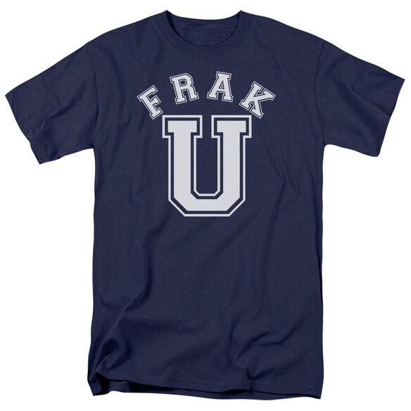 Bsg Frak U Short Sleeve Adult Navy T-Shirt