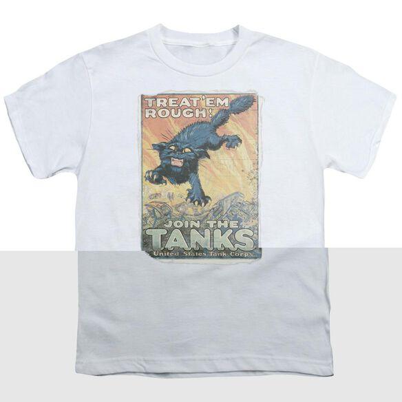 Army Treat Em Rough Short Sleeve Youth T-Shirt
