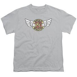 Reo Speedwagon Winged Logo Short Sleeve Youth T-Shirt