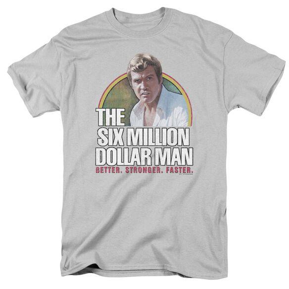 Six Million Dollar Man Better. Stronger. Faster. Short Sleeve Adult T-Shirt
