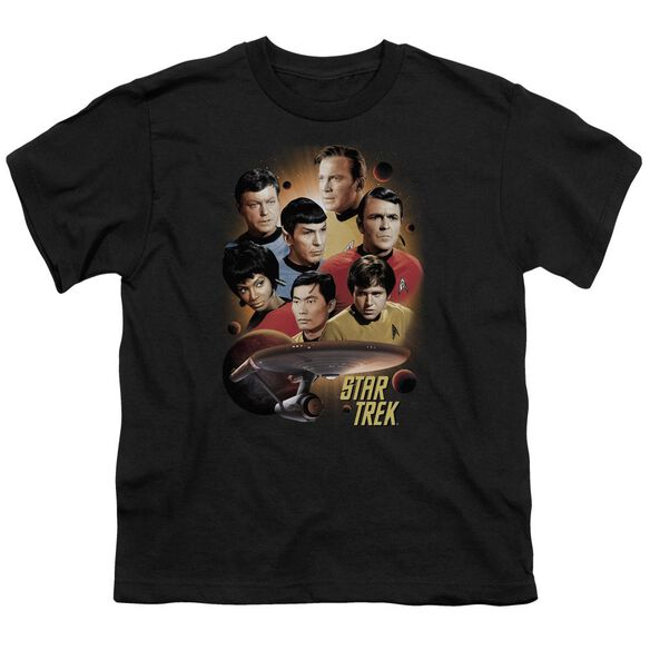 Star Trek Heart Of The Enterprise Short Sleeve Youth T-Shirt