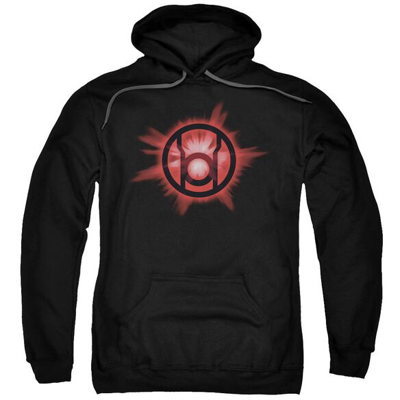Green Lantern Red Glow Adult Pull Over Hoodie