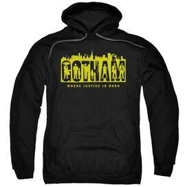 Gotham Silhouettes Adult Pull Over Hoodie