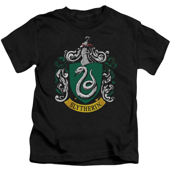 Harry Potter Slytherin Crest Short Sleeve Juvenile T-Shirt