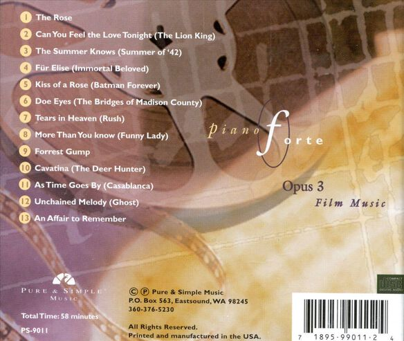 Pianoforte Opus 3 Fi