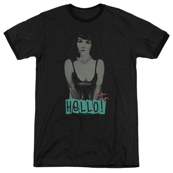 Bettie Page Hello Adult Heather Ringer