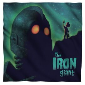 Iron Giant Look To The Stars Bandana White