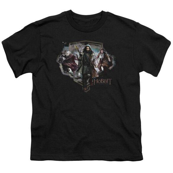The Hobbit Three Dwarves Short Sleeve Youth T-Shirt