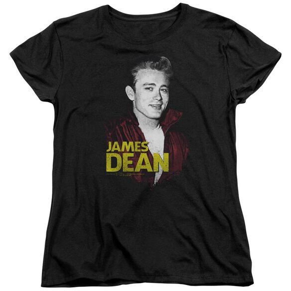 Dean Red Jacket Short Sleeve Womens Tee T-Shirt