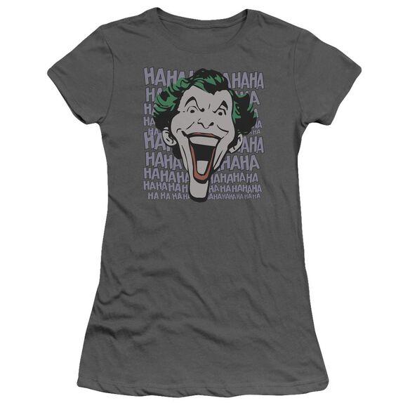 Dc Dastardly Merriment Short Sleeve Junior Sheer T-Shirt