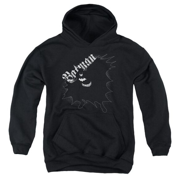 Batman Darkness Youth Pull Over Hoodie