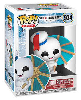 Funko Pop! Movies: Ghostbusters: Afterlife - Mini Puft with Cocktail Umbrella