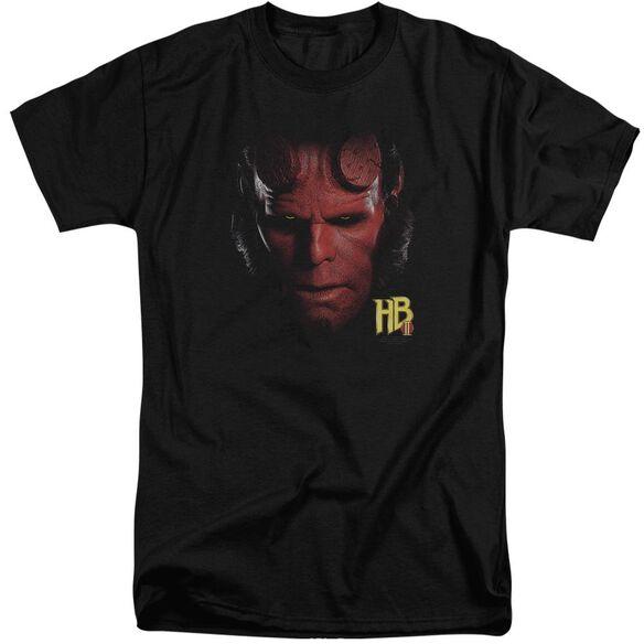 Hellboy Ii Hellboy Head Short Sleeve Adult Tall T-Shirt