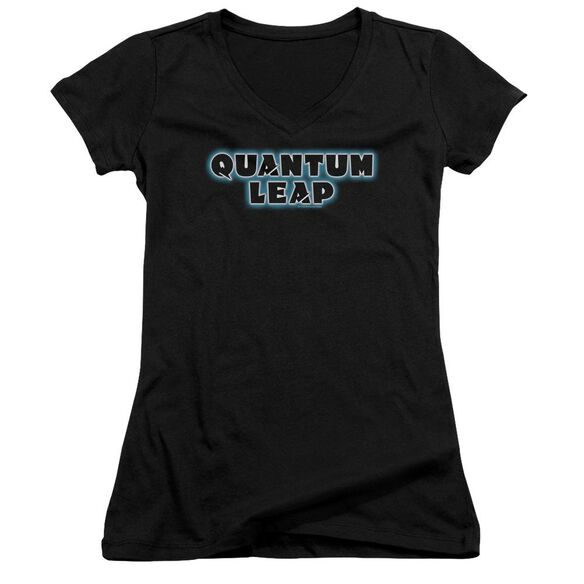 Quantum Leap Logo Junior V Neck T-Shirt