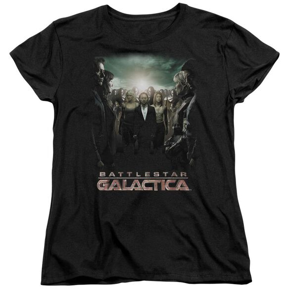 Bsg Crossroads Short Sleeve Women's Tee T-Shirt