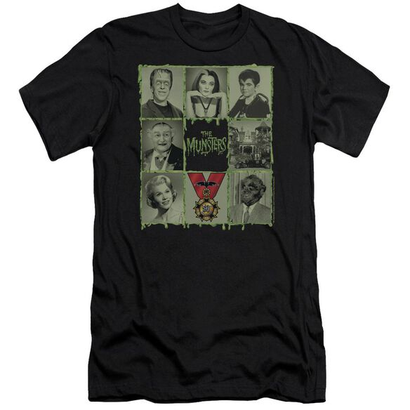 The Munsters Blocks Short Sleeve Adult T-Shirt