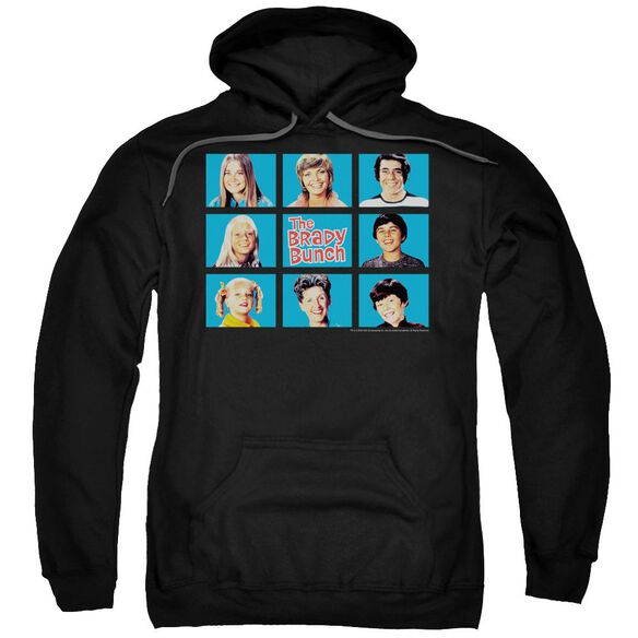 Brady Bunch Framed Adult Pull Over Hoodie