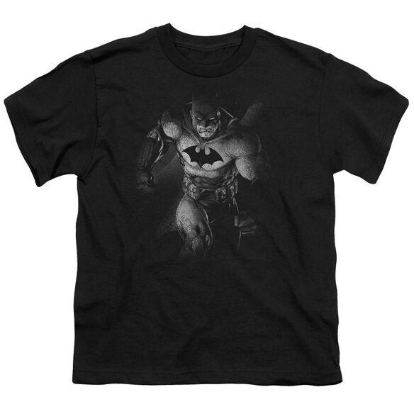 BATMAN MATERIALIZED - S/S YOUTH 18/1 - BLACK T-Shirt