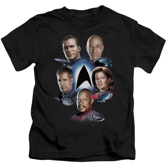 Star Trek Starfleet's Finest Short Sleeve Juvenile Black Md T-Shirt