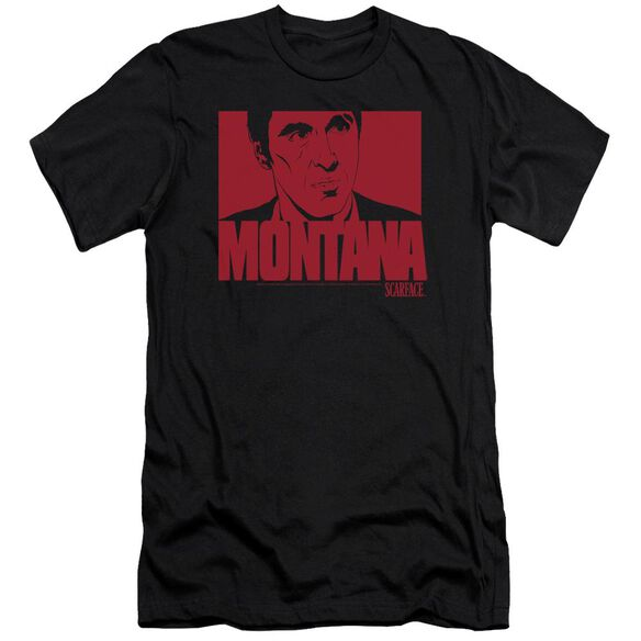 Scarface Montana Face Premuim Canvas Adult Slim Fit