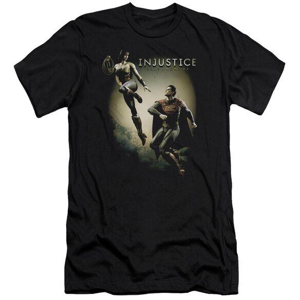 Injustice Gods Among Us Battle Of The Gods Premuim Canvas Adult Slim Fit