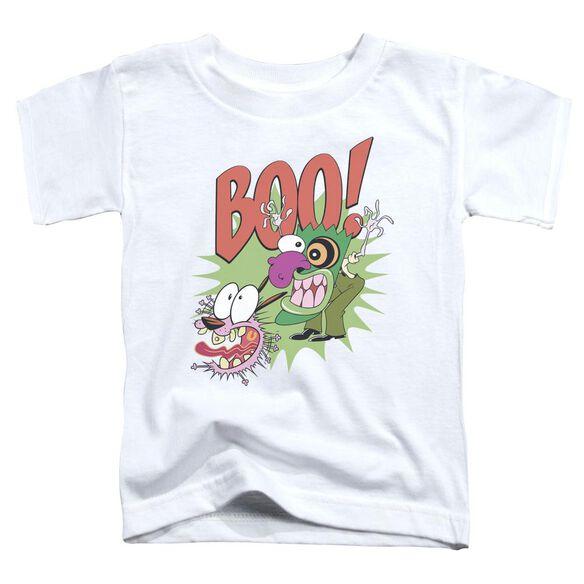 Courage The Cowardly Dog Stupid Dog Short Sleeve Toddler Tee White T-Shirt
