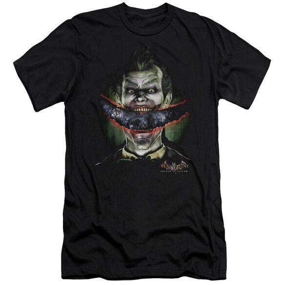 BATMAN AA CRAZY LIPS - S/S ADULT 30/1 - BLACK T-Shirt