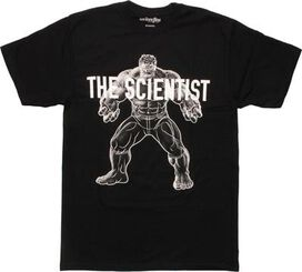 Incredible Hulk The Scientist Mighty Fine T-Shirt