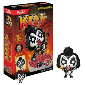 KISS - The Demon Funko's Cereal