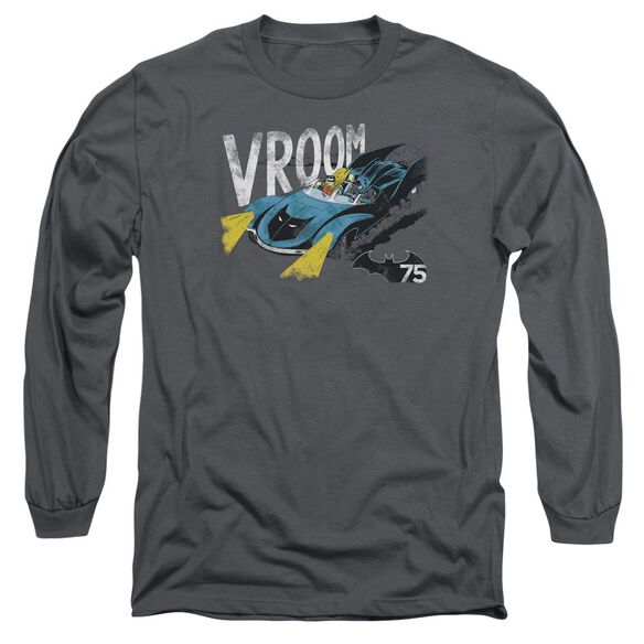 Batman Vroom Long Sleeve Adult T-Shirt