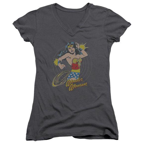 Dc Spinning Junior V Neck T-Shirt