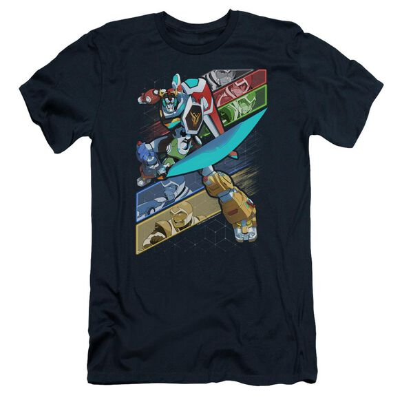 Voltron Crisscross Short Sleeve Adult T-Shirt