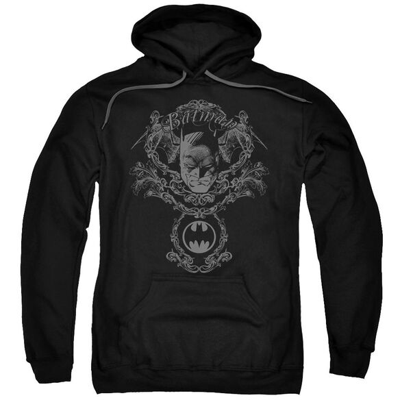 Batman Dark Knight Heraldry Adult Pull Over Hoodie