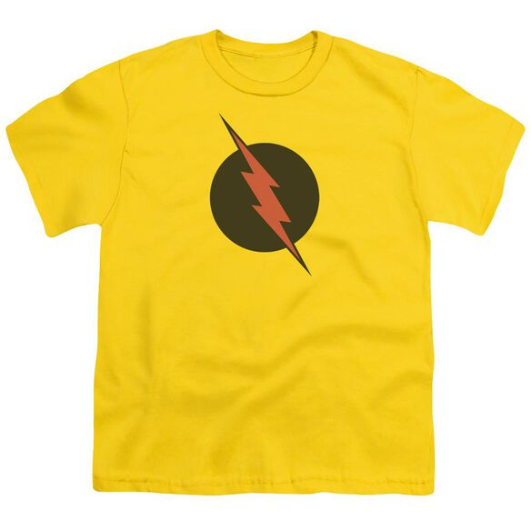 Jla Reverse Flash Short Sleeve Youth T-Shirt