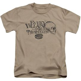 Survivor Lonely Villains Short Sleeve Juvenile Sand T-Shirt