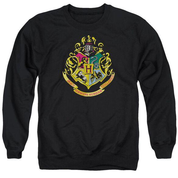 Harry Potter Hogwarts Crest Adult Crewneck Sweatshirt