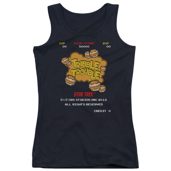 Star Trek Tribble Trouble Juniors Tank Top