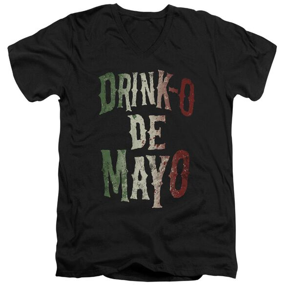 Drink O Short Sleeve Adult V Neck T-Shirt