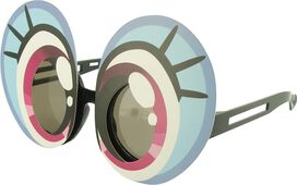 My Little Pony Cartoon Eyes Costume Glasses