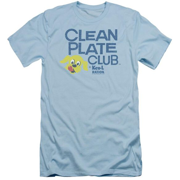 Ken L Ration Clean Plate Short Sleeve Adult Light T-Shirt