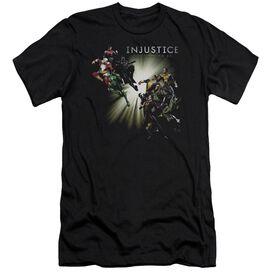 Injustice Gods Among Us Good Vs Evils Premuim Canvas Adult Slim Fit