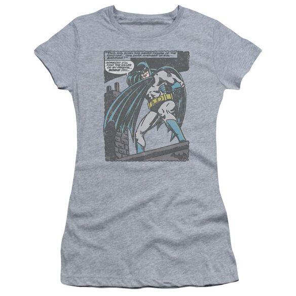 Batman Bat Origins Short Sleeve Junior Sheer Athletic T-Shirt