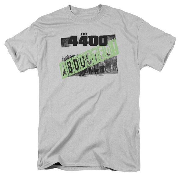 4400 Abducted Short Sleeve Adult Silver T-Shirt