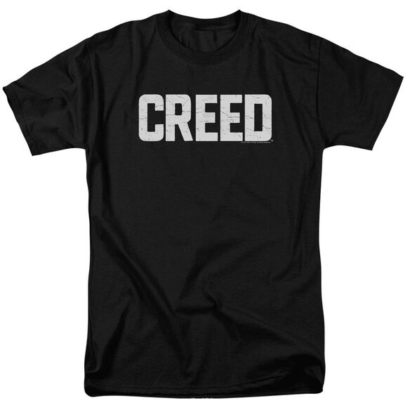 Creed Cracked Logo Short Sleeve Adult T-Shirt