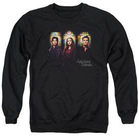 Vampire Diaries Stained Windows Adult Crewneck Sweatshirt