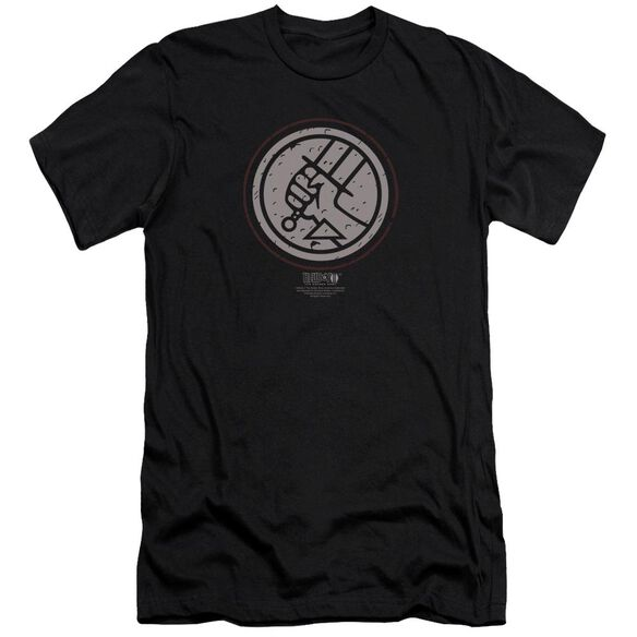 Hellboy Ii Mignola Style Logo Premuim Canvas Adult Slim Fit