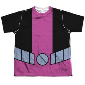 Teen Titans Go Beast Boy Uniform Short Sleeve Youth Poly Crew T-Shirt